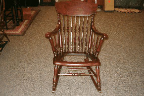 Antique Chair Refinishing Binghamton NY After