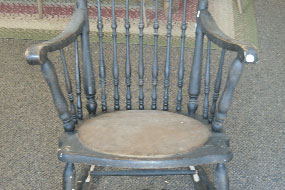 Antique Chair Refinishing Binghamton NY Before