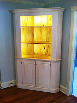 Custom Built Furniture Corner unit Binghamton NY