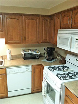 Custom Built Kitchen Cabinets & installation by Old World Refinishers in Binghamton NY