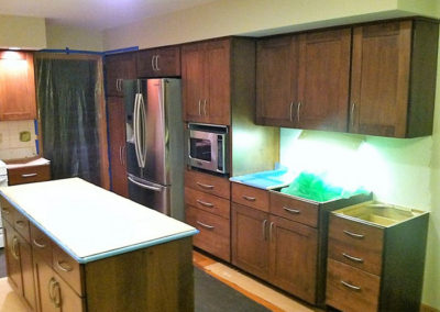 Kitchen Cabinet replacement Binghamton NY After