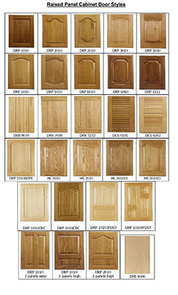 Raised Panel Kitchen Cabinet Door Styles