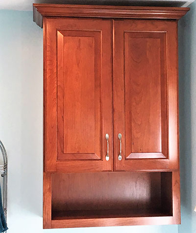 Custom Made Bathroom Cabinet Binghamton NY